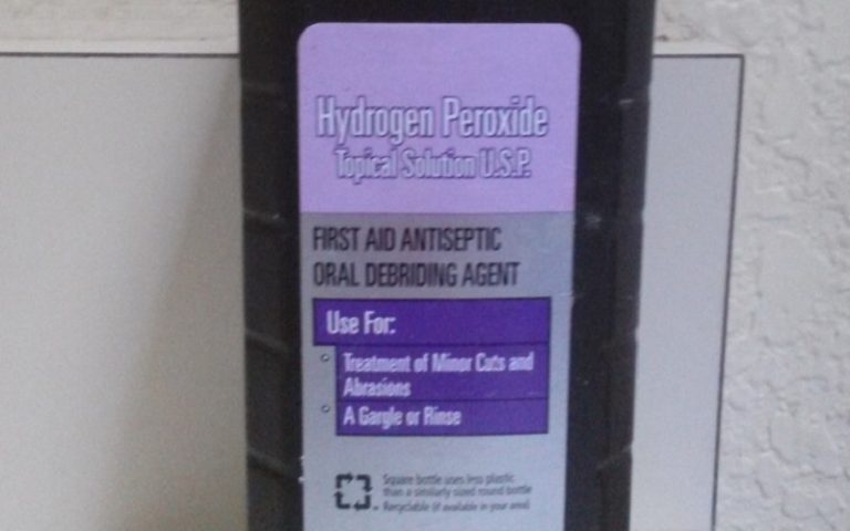 Four Uses of Hydrogen Peroxide for Geranium Plant Health
