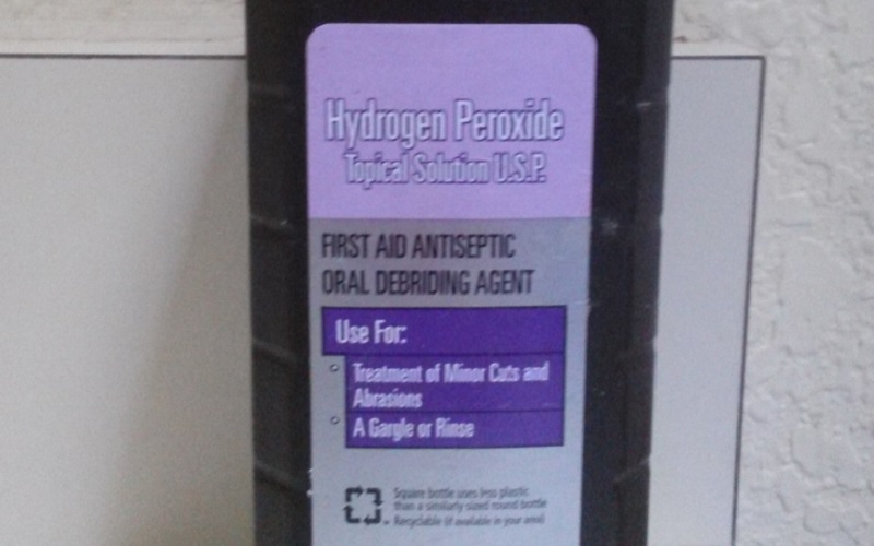 Hydrogen Peroxide for Geraniums